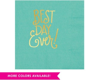 Best Day Ever! Napkins (Qty 25)