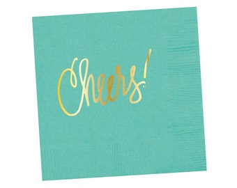 Napkins | Cheers - Robins Egg Blue (in stock)