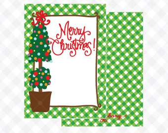 Christmas Topiary Gift Tag (Qty 5)