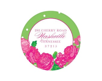 Pretty Roses Address Sticker - Personalized!