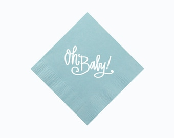 Oh Baby! (blue) | Napkins