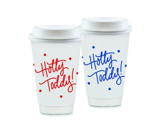 HOTTY TODDY (with dots) | To-Go Coffee Cups