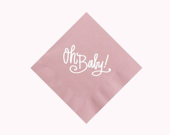 Oh Baby! (pink) | Napkins