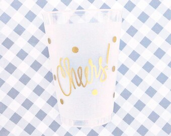 Cheers Cups (reusable) - Qty 12
