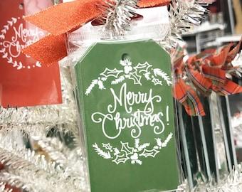 Gift Tags | Christmas Greenery (Moss)