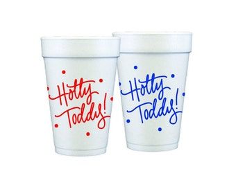 HOTTY TODDY (with dots) | Foam Cups