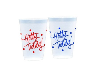 HOTTY TODDY (with dots) | Reusable Flex Cups