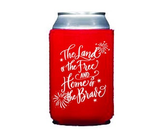 Drink Hugger   4th of July (red)