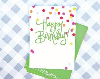 Gift Tags | Confetti Birthday (Qty 10)