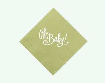 Oh Baby! (green) | Napkins