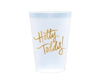 HOTTY TODDY  | Reusable Flex Cups (gold)