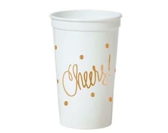 Stadium-Style Cups | Cheers! (22 oz.)