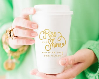 Rise and Shine Coffee Cup (Set of 10)