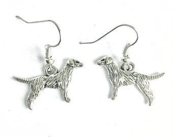 6149d7b33 Retriever Dog Earrings, Labrador Earrings, Retriever owner Gift, Labrador  Charm Earrings, Gift for Her, Dog Lovers Gift, Labrador Gifts