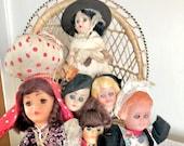 Vintage dolls spares repairs