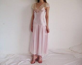19880f59e12c 80s Victorias Secret Slip Dress S M