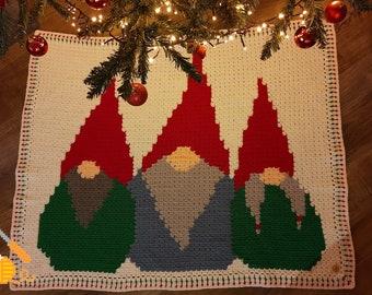 Dutch crochet pattern: Tomte blanket