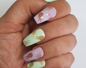 GK Nails TOGETHER Waterslide Nail Decals