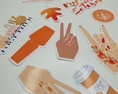 Autumn | Fall themed | Stickers