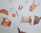 Autumn   Fall   GK Nails   Post Cards