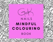 GK Nails Mindful Colouring Book