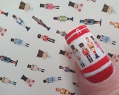 Christmas | Nutcracker Soldier | Nail Decals | Water slide Nail Art