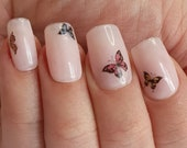 GK Nails Butterfly Nail Waterslide Decals