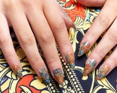 GK Nails Instant Manicure - Vintage Jaded London Press on Nails