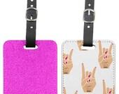 GK NAILS Luggage tag Rock Pink Nails