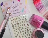 GK Nails | Cherub Nail Decals | Nail decals | Waterslide Nail Decals | Cherubs | Angels | Nail Art