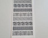 GK Nails | Nail Decals | Animal Print | Nail Art | Animal Print Nail Decals