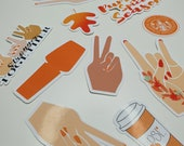 Autumn   Fall themed   Stickers