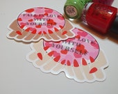 GK Nails   Stickers   Fall in love with Yourself   Self Love Sticker   Valentines Sticker   Galentines   Stationary