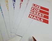 GK Nails   Postcards   Live For Great Nails   Nail Tech   Salon Art