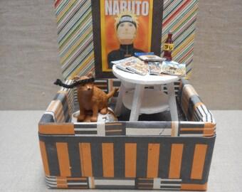 Miniature roombox - anime theme with Naruto