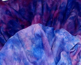 Wild Berry DUET Hand Dyed Wool and Silk