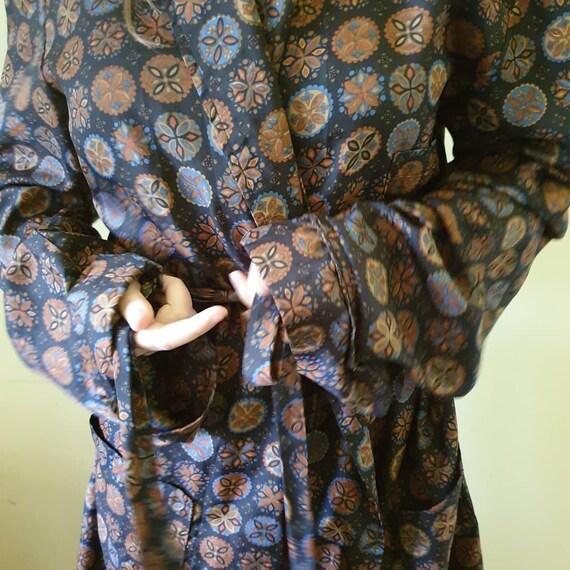 Vintage unisex robe retro robe kitsch robe vintage