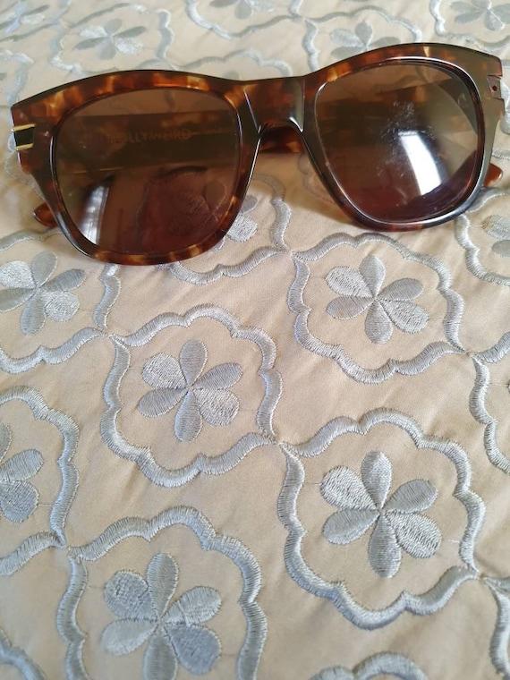 Retro sabre sunglasses vintage sabre sunnies tort… - image 1