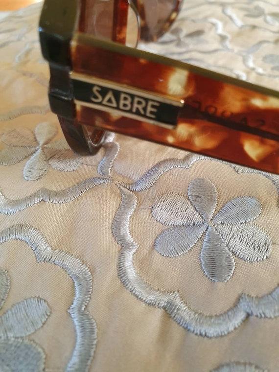 Retro sabre sunglasses vintage sabre sunnies tort… - image 7
