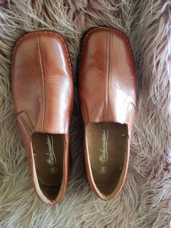 Leather Shoes Boho Leather Shoes Retro Leather Shoes Etsy