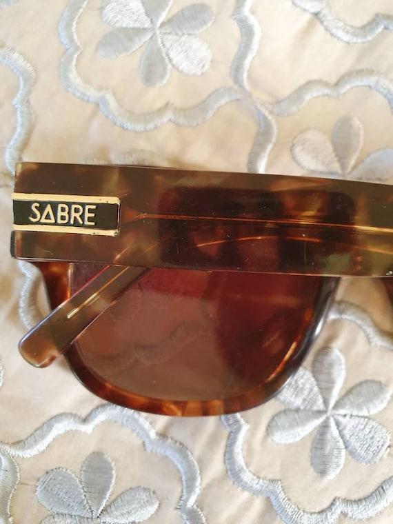 Retro sabre sunglasses vintage sabre sunnies tort… - image 6