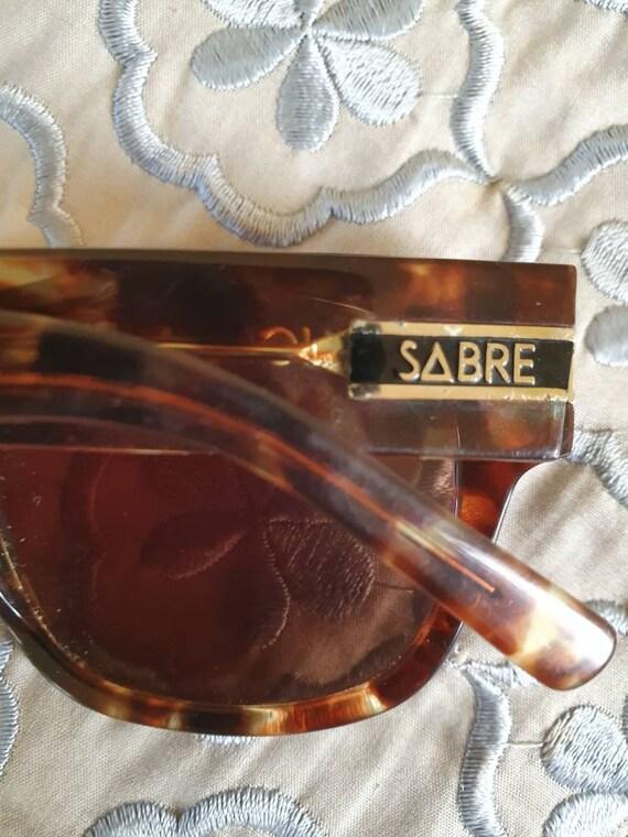 Retro sabre sunglasses vintage sabre sunnies tort… - image 5