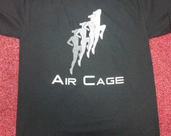 """Mortal Kombat Air Cage """"Johnny Cage"""" T Shirt"""