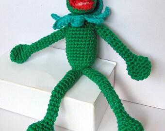 Kermit the Frog - Amigurumi Crochet Pattern   PDF e-Book   Stuffed Animal  Tutorial  Frog from the Disney movie Muppets Most Wanted 7b3f014ec007