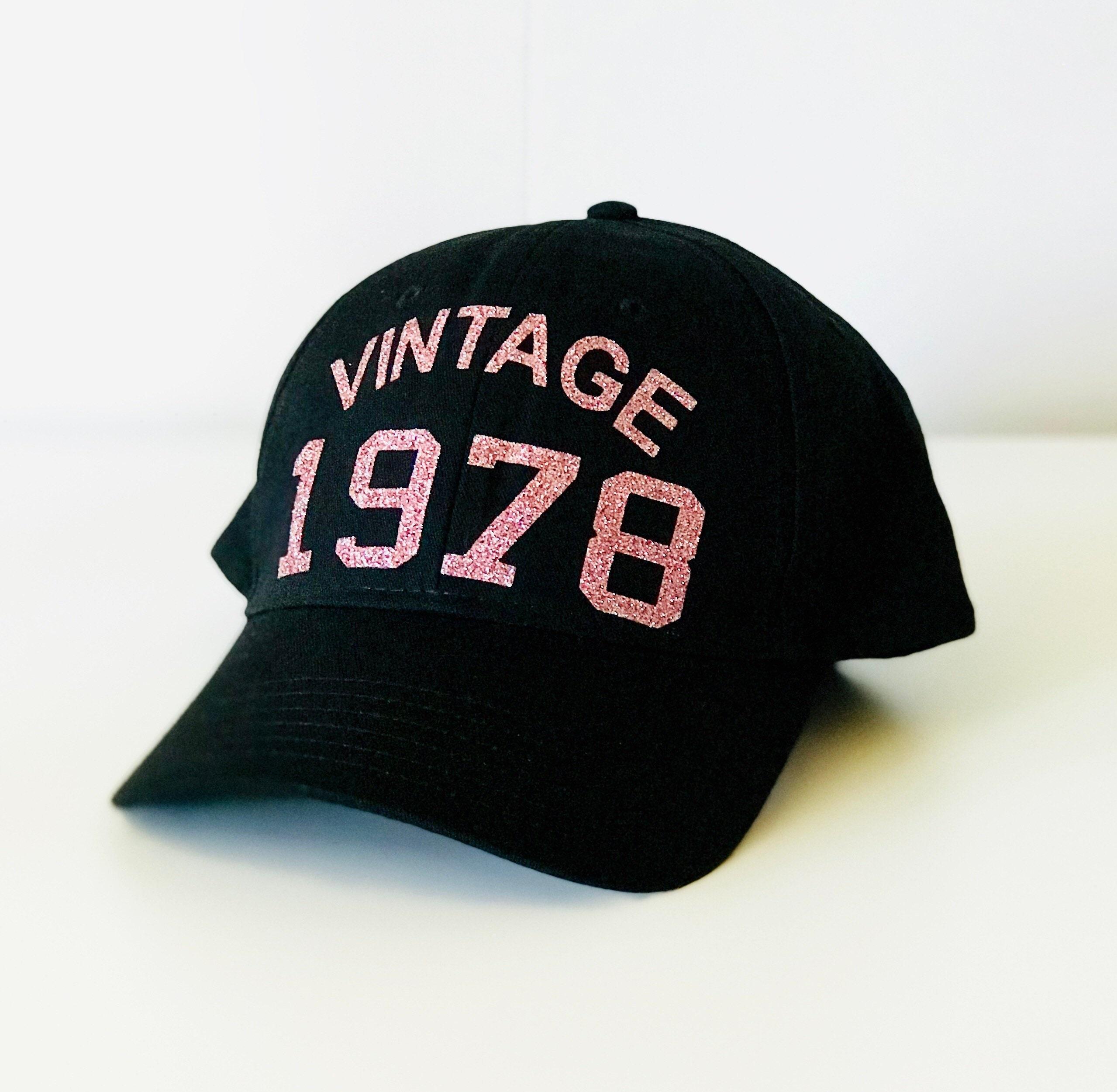 Vintage 1978 Hat 40th Birthday
