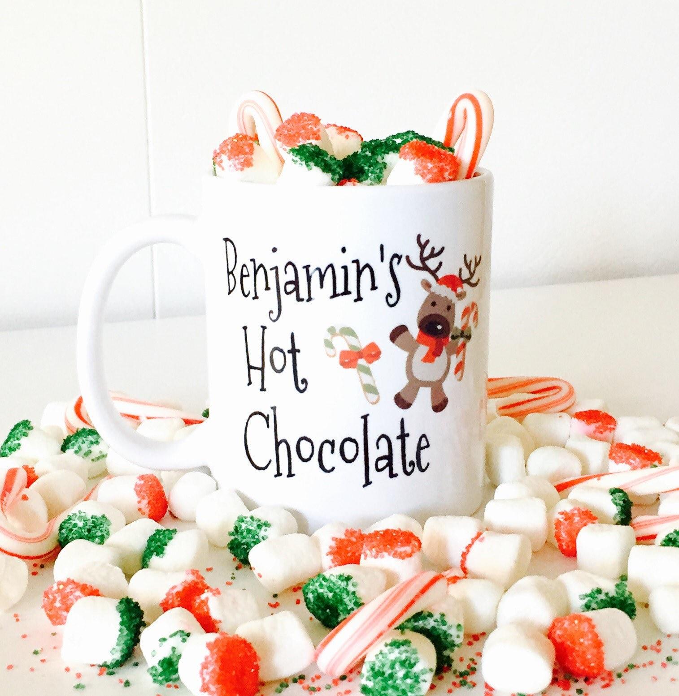 Heiße Schokolade Becher für Kinder Weihnachten heiße | Etsy