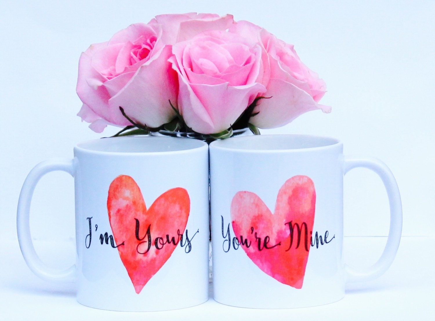 I\'m Yours You\'re Mine Coffee Mug Set I\'m Yours | Etsy