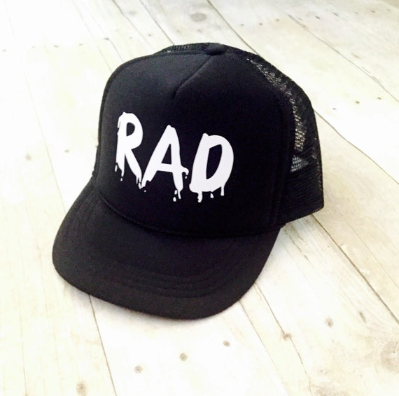RAD Trucker Hat for Kids Kids Trucker Hats Rad Hat  3274bc39d7a
