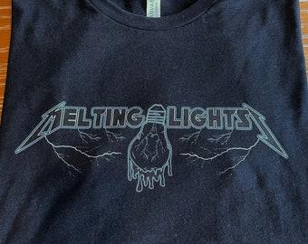 PPPP - Melting Lights Metal Mania - Unisex Shirt - Pigeons Playing Ping Pong P4  Inspired Fan Art