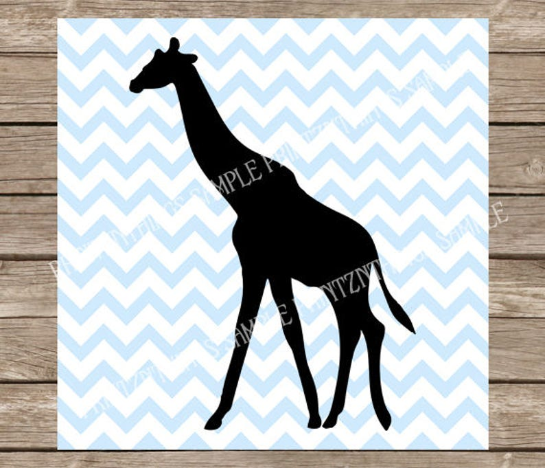 Giraffe Svg Giraffe Svg Svg Files Animal Svg Giraffe Etsy